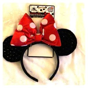 Accessories - 🆕 Minnie Mouse Ears - Size Adult